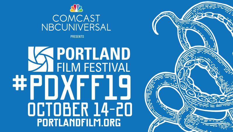Flyer for the 2019 Portland Film Festival.